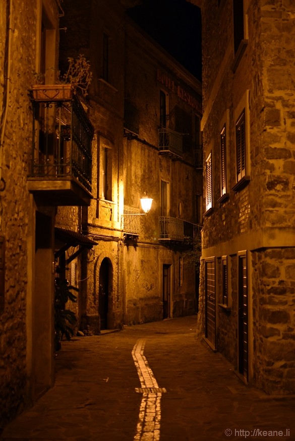 Acciaroli at Night