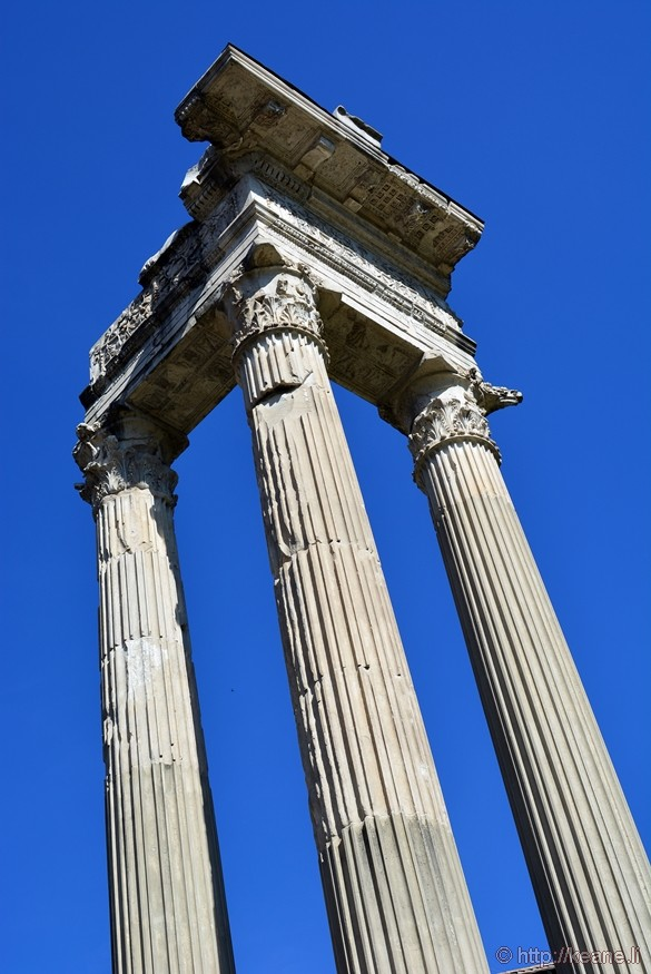 Temple of Apollo Sosianus in Rome's Jewish Ghetto