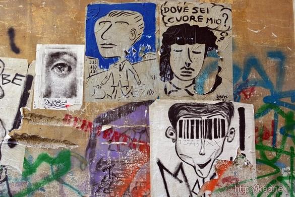 Street Art in Naples Historic Center
