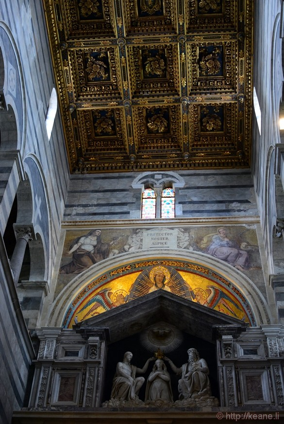Mosaics in the Cattedrale di Pisa