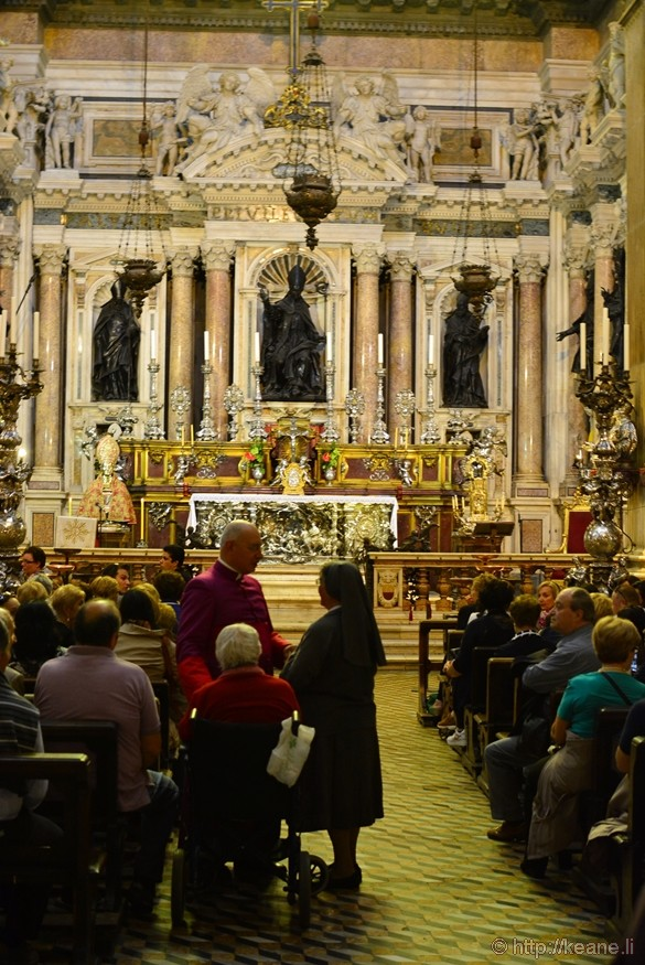Chapel in the Naples Duomo