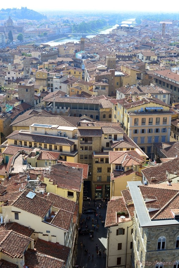 View of Florence from the Torre of Palazzo Vecchio