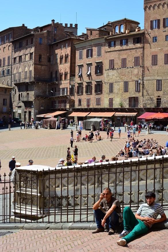 Main Piazza of Siena