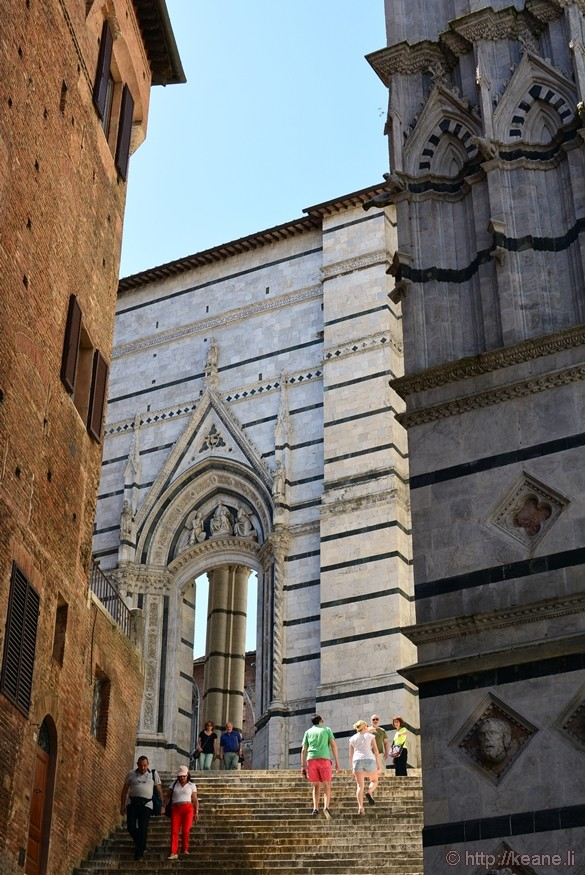 Architecture in Siena