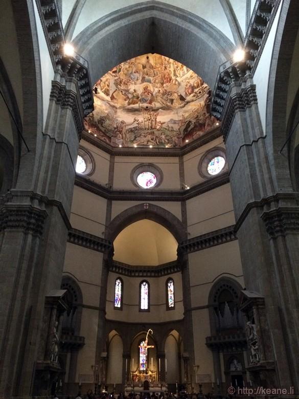 Inside the Duomo di Firenze