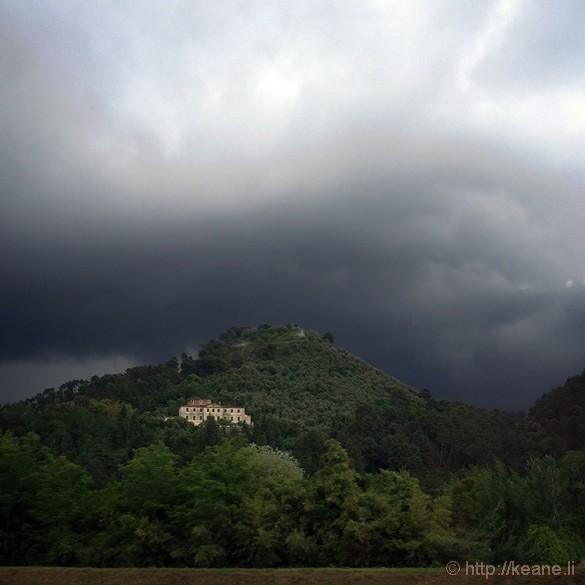 Camaiore - Rain Clouds Over Mountain