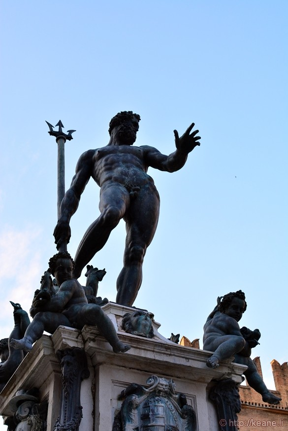 Neptune Fountain in Bologna