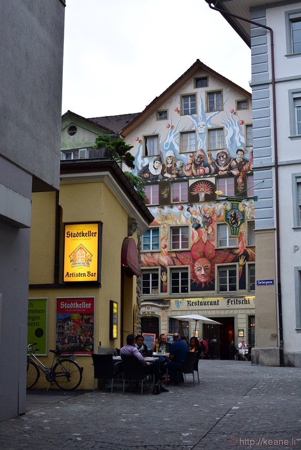 Historic Lucerne City Center