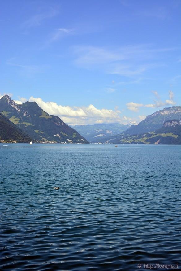 Ennetbürgen and Lake Lucerne
