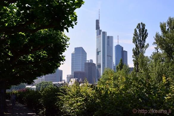 Frankfurt Downtown Skyline