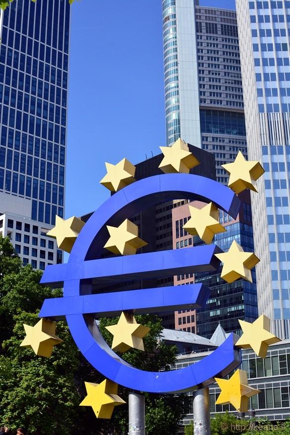 European Central Bank in Frankfurt