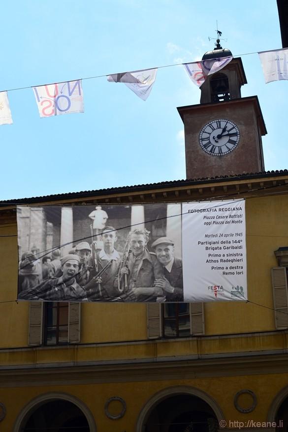 "Reggio-Emilia ""Fotografia Reggiana"" Exhibit Banner"