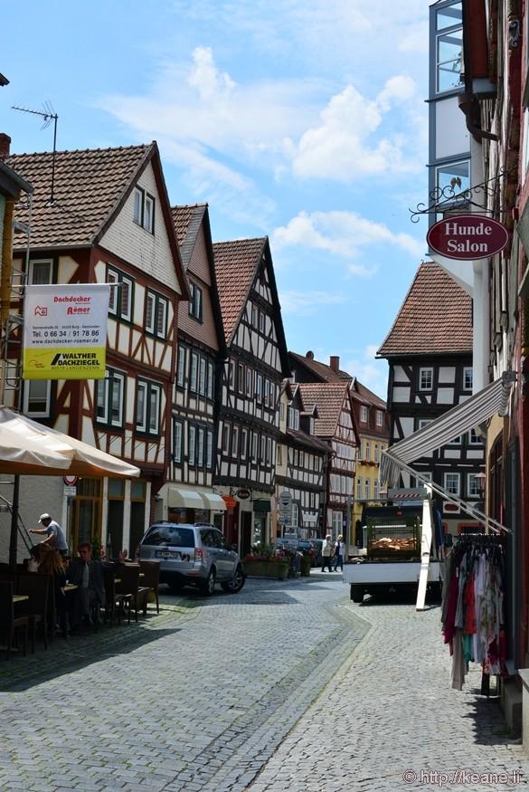 Alsfeld, Germany - Historic Center
