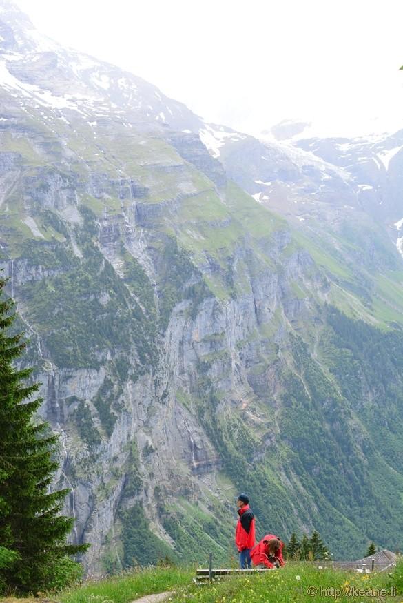 Swiss Alps from Mürren