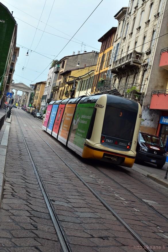 Corso di Porta Ticinese in Milan