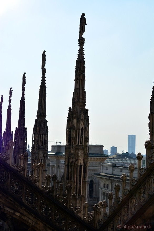 Terrazze del Duomo in Milan