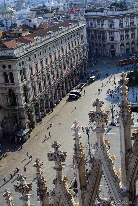 Piazza del Duomo from the Terrazze del Duomo