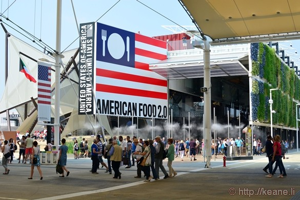 USA Pavilion at Milan Expo 2015