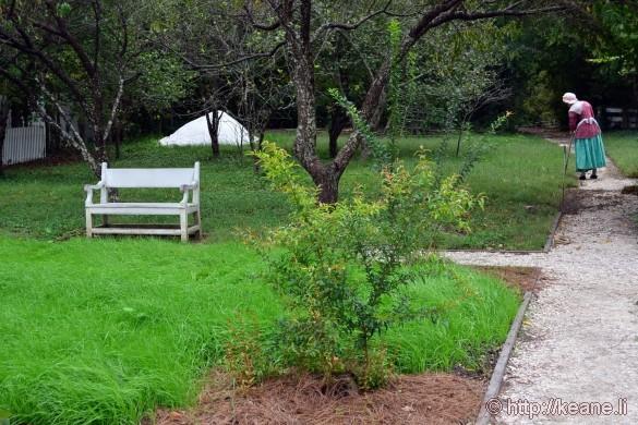 Colonial Williamsburg - Woman Gardening
