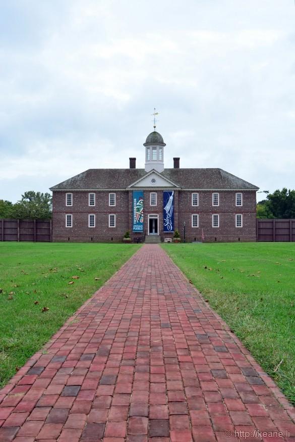 Colonial Williamsburg - DeWitt Wallace Decorative Arts Museum & Abby Aldrich Rockefeller Folk Art Museum (Formerly the Public Hospital of 1773)
