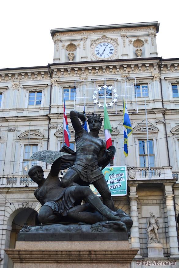 Statue in Turin