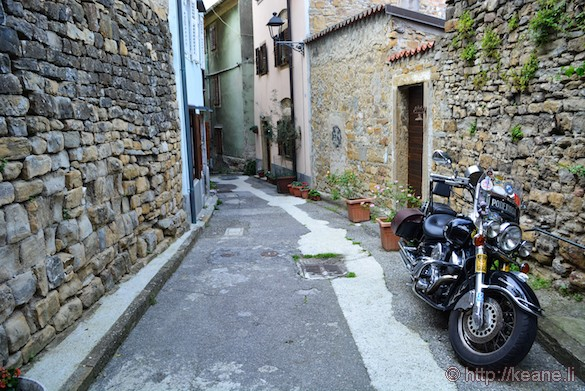 Streets of Muggia