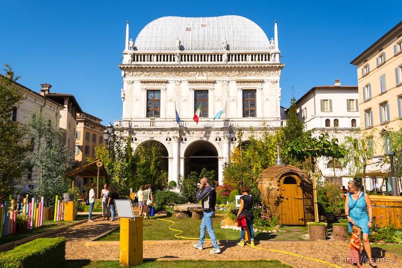 Loggia Palace in Brescia