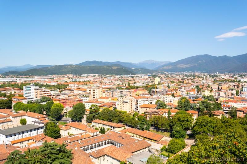 View from the Castello di Brescia