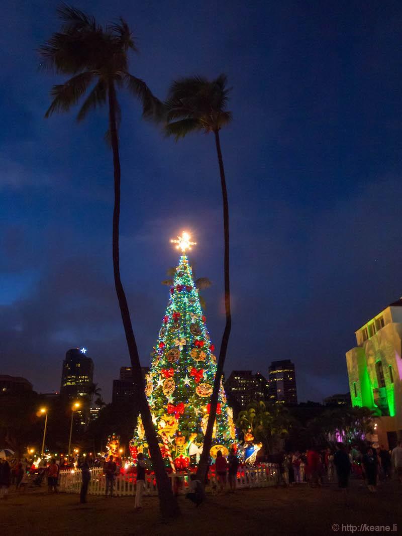 Honolulu City Lights 2016 at Honolulu Hale