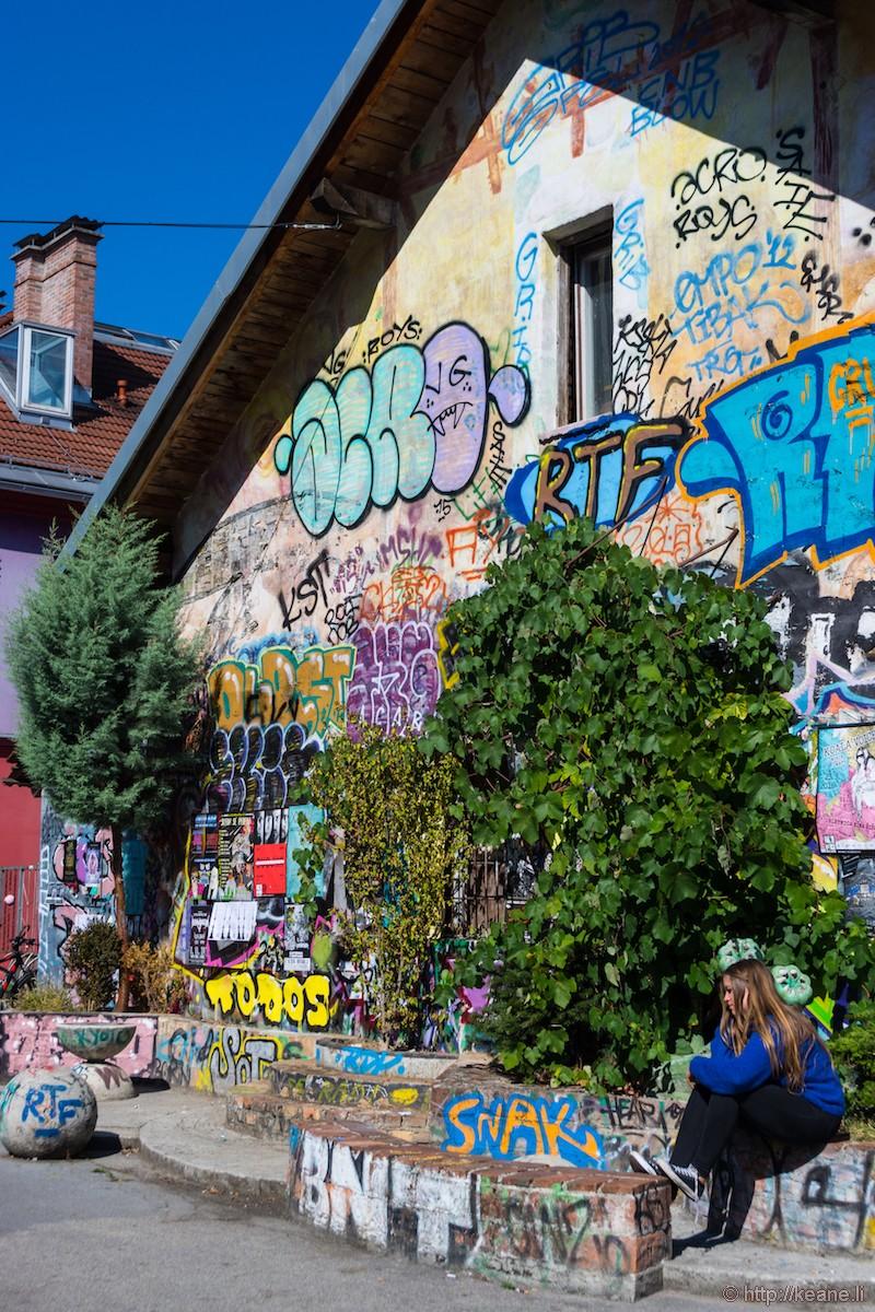 Metelkova Street Art in Ljubljana