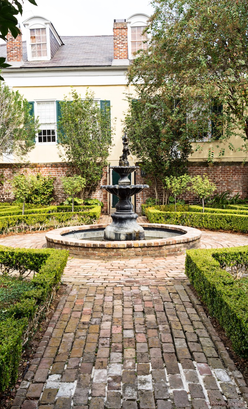 Courtyard in New Orleans