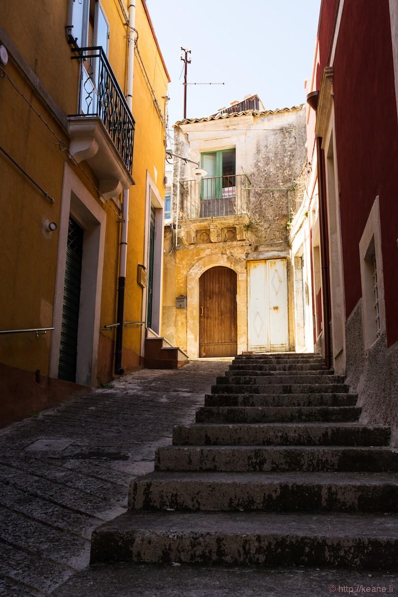 On the Street in Palazzolo Acreide