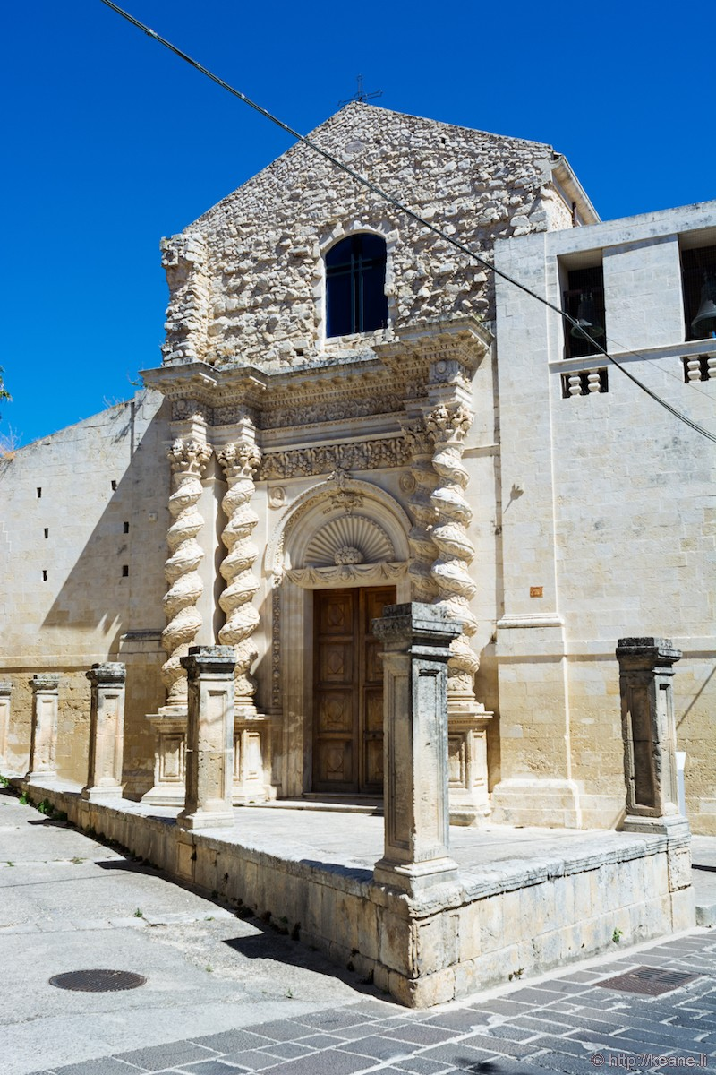 Chiesa dell'Annunziata (Church of the Announced) in Palazzolo Acreide