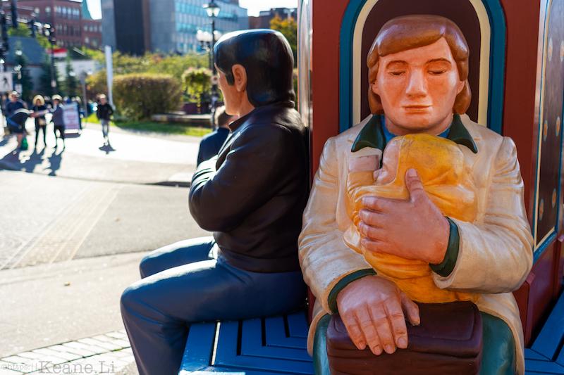 Statue in Saint John, New Brunswick
