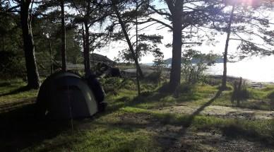 Illan telttapaikka