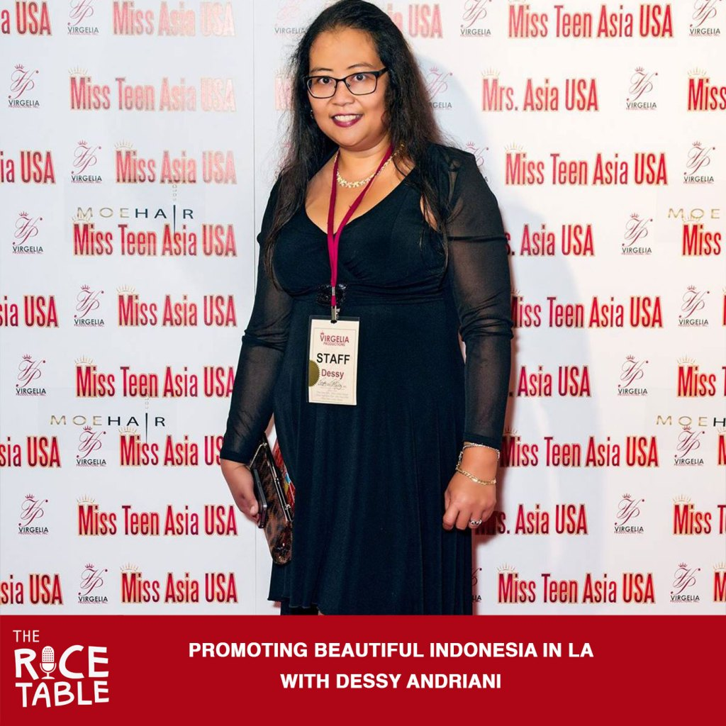 Dessy Andriani - Miss Indonesia - - Beautiful Indonesia -The Rice Table Podcast