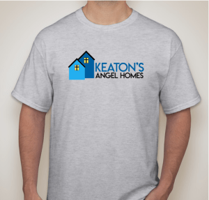 Keaton's Angel Homes t-shirt