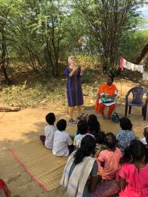 March 2020 India orphanage photo
