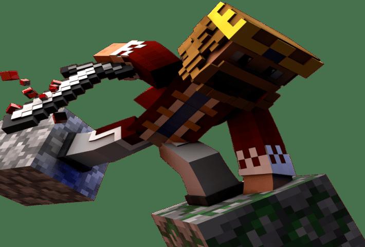 Fábrica colaborativa con Minecraft