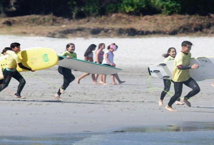 Santander Surf e Inglés