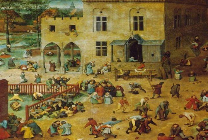 Taller artístico sobre la obra «Juego de niños» de Pieter Brueghel