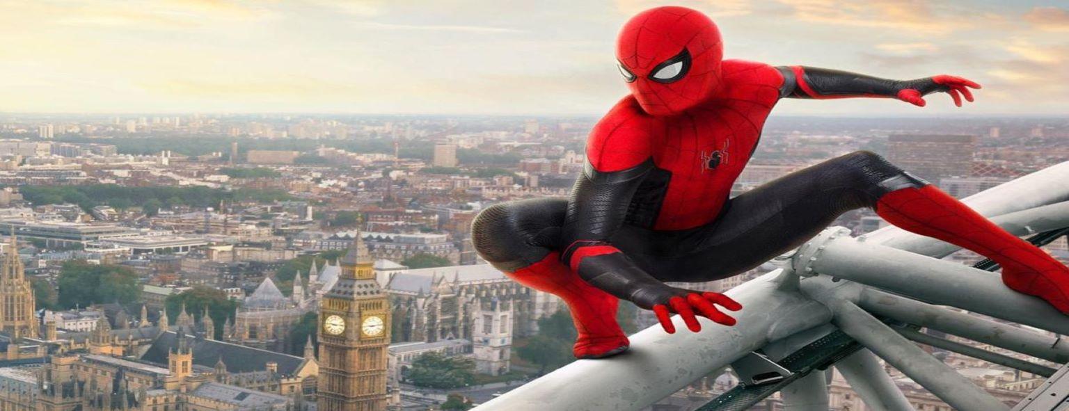 cine: spiderman. Lejos de casa.