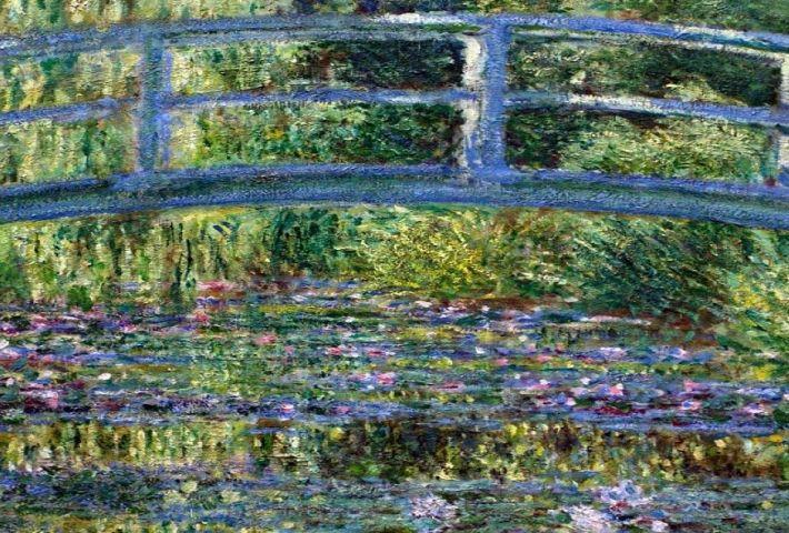 Taller: ¿Te cuento un cuadro? El Estanque de Nenúfares. de Claude Monet.