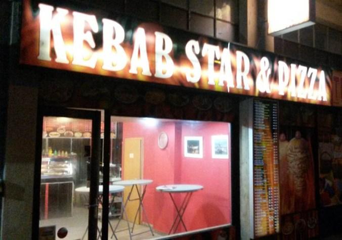 Exteriér -Exteriér - Kebab Star & Pizza Dejvice