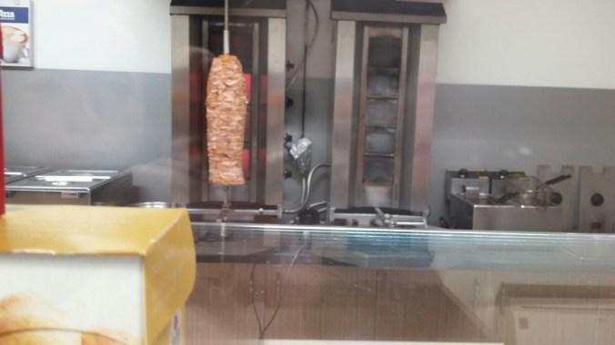 Kuřecí na roštu - Kebab Samuel, Milovice