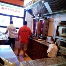 Obsluha v akci - Antalya Kebab Děčín
