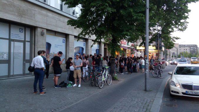Večerní had před Mustafou - Mustafa's Gemüse Kebap (Berlín)