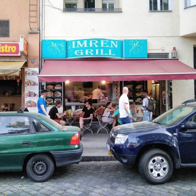 Exteriér - Imren Grill (Berlín)
