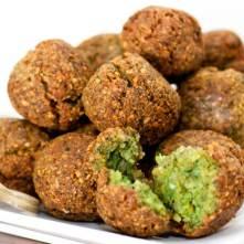 Falafel - smažené kuličky z bobů nebo z cizrny - Kebabárenský slovníček