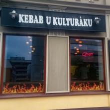 Exteriér - Kebab u kulturáku, Ústí n. L.